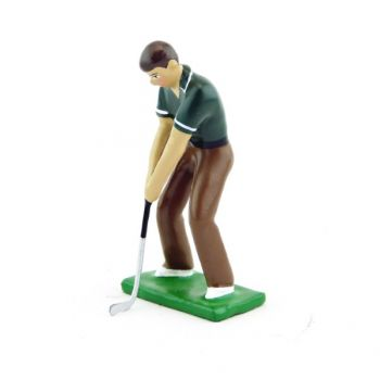golfeur au Putting (GF03)