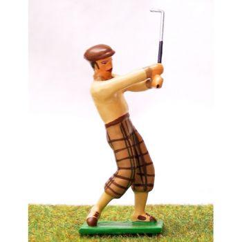 golfeur en Fin de swing