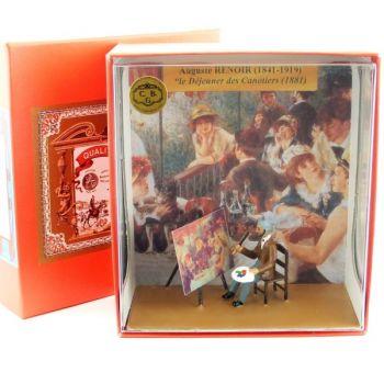 coffret ''Renoir peignant ''le déjeuner des canotiers''