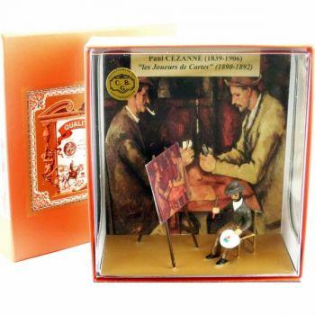 coffret ''Cézanne peignant ''les joueurs de cartes''