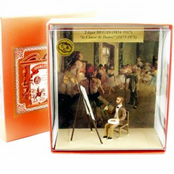 coffret ''Degas peignant ''la Classe de Danse''