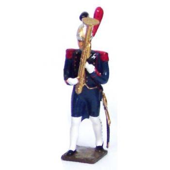 Ophicléïde de la musique du genie de la garde (1812)