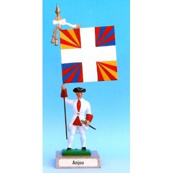 Anjou (collection ''drapeaux des Provinces'') (anc. ANJ)
