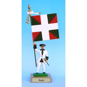 Aunis (collection ''drapeaux des Provinces'') (anc. AUN)