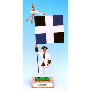 Auvergne (collection ''drapeaux des Provinces'') (anc. AUV)