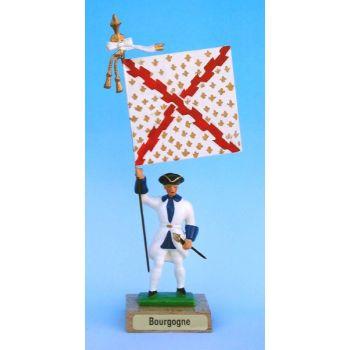 Bourgogne (collection ''drapeaux des Provinces'') (anc. BRG)