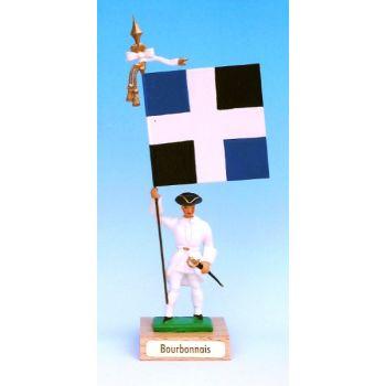 Bourbonnais (collection ''drapeaux des Provinces'') (anc. BOR)