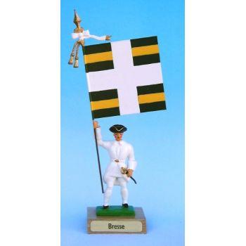 Bresse (collection ''drapeaux des Provinces'') (anc. BRS)
