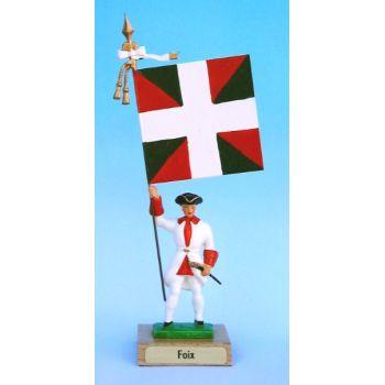 Foix (collection ''drapeaux des Provinces'') (anc. FOI)