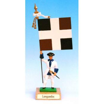Languedoc (collection ''drapeaux des Provinces'') (anc. LAN)