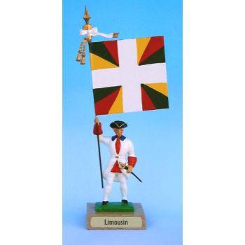 Limousin (collection ''drapeaux des Provinces'') (anc. LIM)