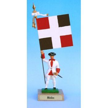 Médoc (collection ''drapeaux des Provinces'') (anc. MED)