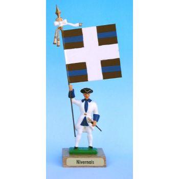 Nivernais (collection ''drapeaux des Provinces'') (anc. NIV)