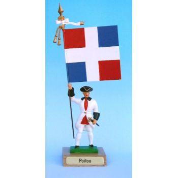 Poitou (collection ''drapeaux des Provinces'') (anc. POI)