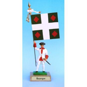 Rouergue (collection ''drapeaux des Provinces'') (anc. ROU)