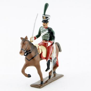 cavalier du 14e régiment de hussards (1808)