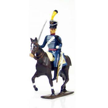cavalier du 1er régiment de hussards (1808)