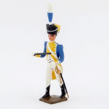 chef de musique de la musique du 3e rgt de grenadiers de la garde (ex-hollandais
