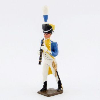 clarinettiste de la musique du 3e rgt de grenadiers de la garde (ex-hollandais)