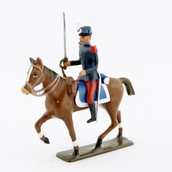 cavalier des saint-cyriens à cheval
