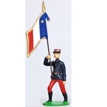 Drapeau - Infanterie De Ligne En Kepi (1914)