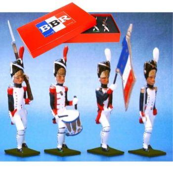 Grenadiers de la Garde, coffret de 4 figurines