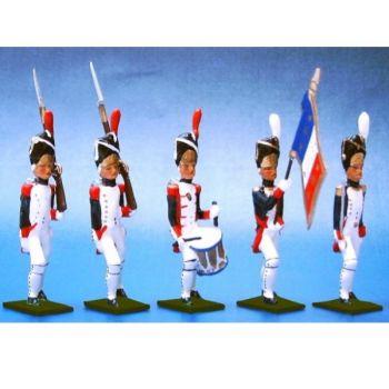 Grenadiers de la Garde, ensemble de 5 figurines