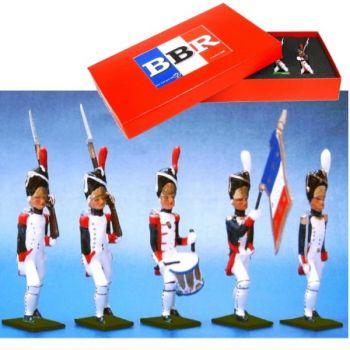 Grenadiers de la Garde, coffret de 5 figurines