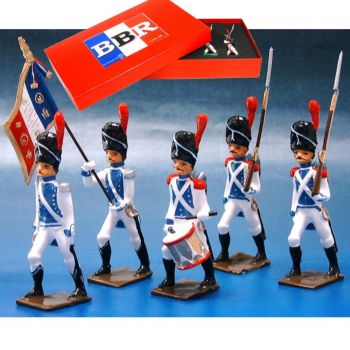 Grenadiers de Cleves-Berg, coffret de 5 figurines
