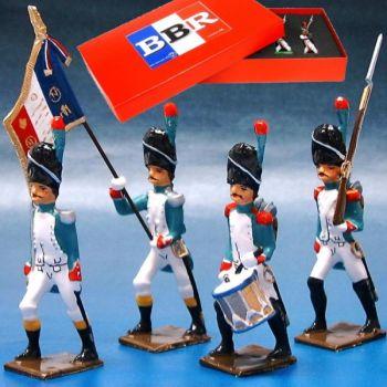 Grenadiers Italiens, coffret de 4 figurines