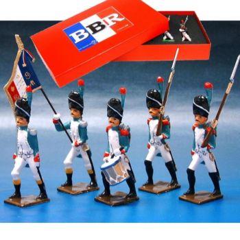 Grenadiers Italiens, coffret de 5 figurines
