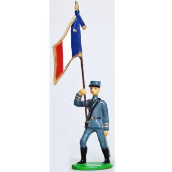 Drapeau - Infanterie De Ligne, Kepis, Bleu Horizon (1915)