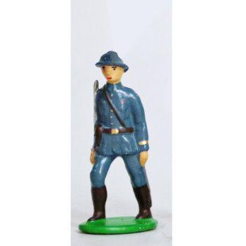 Officier - Infanterie De Ligne, Casque Adrian, Bleu Horizon (1915)