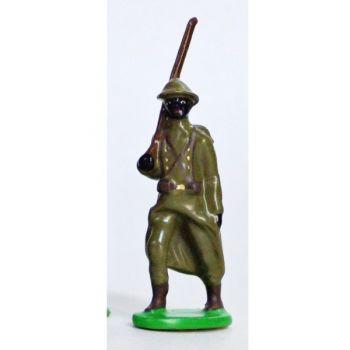 Fantassin - Infanterie Senegalaise, Casque Adrian (1935-1945)