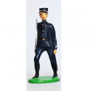Officier - Chasseurs Alpins, Tenue Bleue