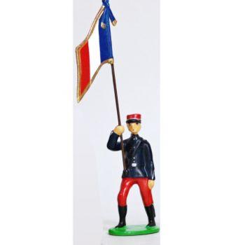 Drapeau - Infanterie Alpine (1914)