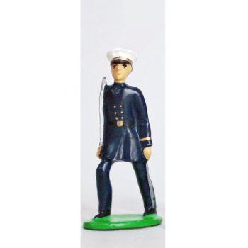 Officier - Fusiliers Marins En Bleu