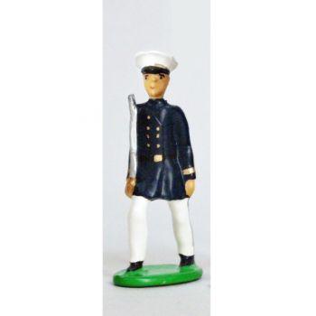 Officier - Fusiliers Marins En Blanc