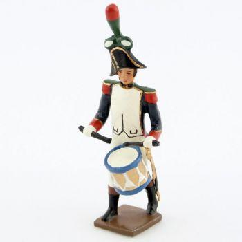 caisse roulante (tambour) de la musique des chasseurs à pied (1809)