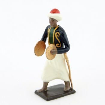 cymbalier (mameluck) de la musique des chasseurs à pied (1809)