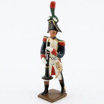 clarinettiste de la musique des chasseurs à pied (1809)