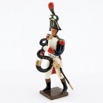 serpent de la musique des chasseurs à pied (1809)