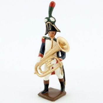 Tuba de la musique des chasseurs à pied (1809)