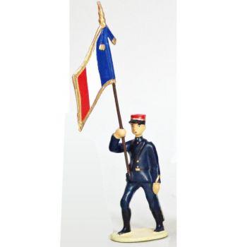 Drapeau - Tirailleurs Senegalais (IIIe République)