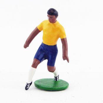 footballeur (années 20), équipe du Brésil pied en avant