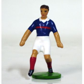 footballeur (années 20), équipe de France pied en avant