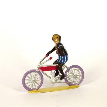 singe à motocyclette