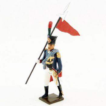 2e porte-aigle des Canonniers Garde-Côtes (anc. 0037D-005)