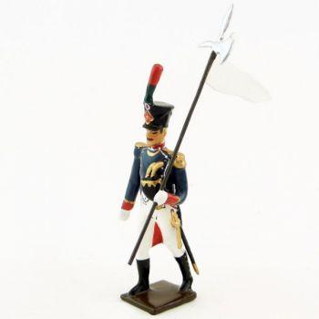 3e porte-aigle des Canonniers Garde-Côtes (anc. 0037D-005)