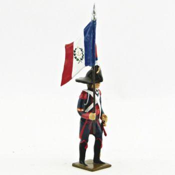 porte-drapeau du 1er Rgt de Pontonniers (dits du Rhin)